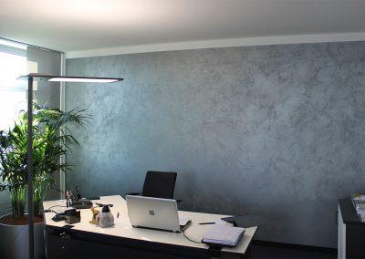 malwerk_krauss_Büro-Italienische-Wischtechnik-mit-Metalliceffekt